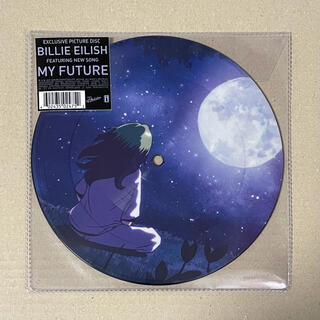ビリー アイリッシュ my future 限定版レコード(ポップス/ロック(洋楽))