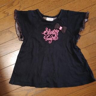 シャーリーテンプル(Shirley Temple)のシャーリーテンプル Aラインフリルカットソー 130(Tシャツ/カットソー)