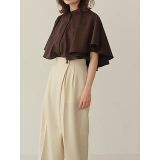 TODAYFUL - louren drape cape blouse 22 SUMMER