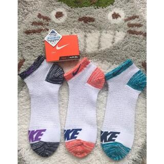 ナイキ(NIKE)のナイキ 靴下 24〜26cm スーパーメッシュ ソックス 3足セット(ソックス)