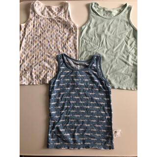 ユニクロ(UNIQLO)のUNIQLO ランニングシャツ 3枚セット(下着)