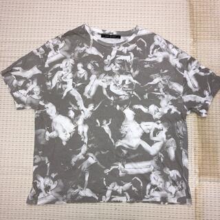 ノーアイディー(NO ID.)のNO ID. ノーアイディー 総柄 Tシャツ(Tシャツ/カットソー(半袖/袖なし))