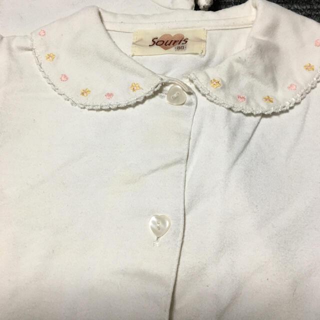Souris(スーリー)のスーリーブラウス&ワンピースセット 80〜90 キッズ/ベビー/マタニティのベビー服(~85cm)(ワンピース)の商品写真