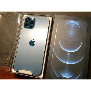 Apple - iPhone 12 Pro 128GB SIMフリーパシフィックブルー未使用新品