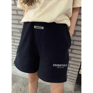 Essential -   Essentials反射半ズボンスウェットパンツfog男女5分パンツ