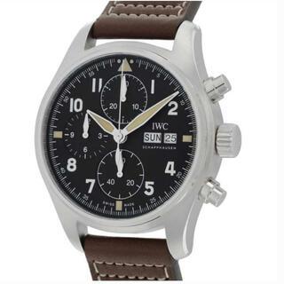 インターナショナルウォッチカンパニー(IWC)の腕時計 メンズ クロノグラフ IWC パイロットウォッチ スピットファイア(腕時計(アナログ))