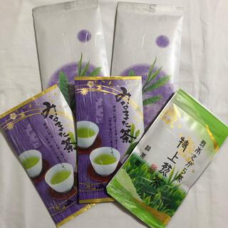 お茶 お茶っ葉 茶葉 国産 緑茶 煎茶 緑茶 玉緑茶 5袋セット(茶)