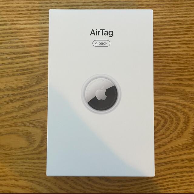 Apple(アップル)の新品未開封! エアタグ AirTag 4個セット最安!! スマホ/家電/カメラのスマートフォン/携帯電話(その他)の商品写真