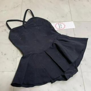 CHACOTT - 新品 チャコット chacott スカート付レオタード 110 ブラック