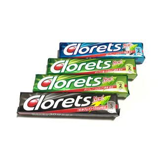 クロレッツ Clorets 4本 セット まとめ売り(菓子/デザート)