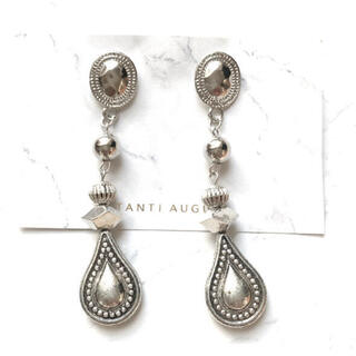 TODAYFUL - vintage silver drop ピアス