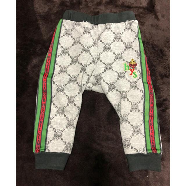 HYSTERIC MINI(ヒステリックミニ)のヒスミニ セットアップ90 キッズ/ベビー/マタニティのキッズ服男の子用(90cm~)(ジャケット/上着)の商品写真