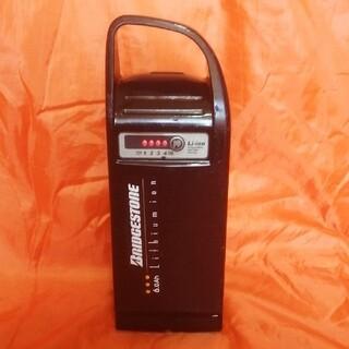 ブリヂストン(BRIDGESTONE)のブリジストン[ヤマハ]電動アシスト自転車バッテリーx56-31 6.0Ah 良品(パーツ)
