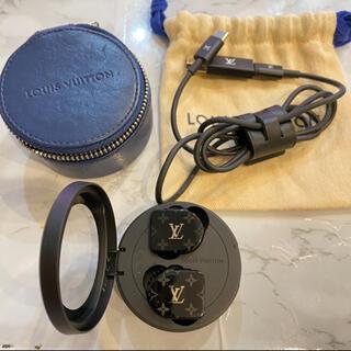 ルイヴィトン(LOUIS VUITTON)の専用ルイヴィトン ホライゾン ワイヤレスイヤホン アセテート×シリコン ブラック(ヘッドフォン/イヤフォン)