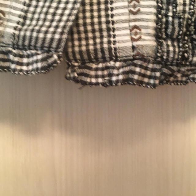 PINK HOUSE(ピンクハウス)の リンゴ様専用 ピンクハウス🎀半袖チェックパーカー レディースのトップス(シャツ/ブラウス(半袖/袖なし))の商品写真