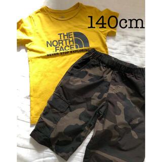 THE NORTH FACE - 【THE NORTH FASE】ノースフェイス Tシャツ ハーフパンツ セット