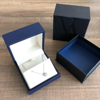 ヴァンドームアオヤマ(Vendome Aoyama)のヴァンドーム青山 ダイアモンドグレースネックレス 0.38カラット プラチナ(ネックレス)
