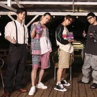 L ☆ kith patchwork  shirts shorts 今市隆二(シャツ)