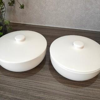 イッタラ(iittala)の未使用 イッタラ ティーマティーミ 蓋付きスープボウル 2点セット(食器)