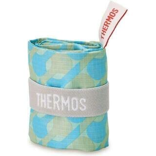 サーモス(THERMOS)のサーモス ポケットバッグ 18L ライトブルー エコバッグ(エコバッグ)