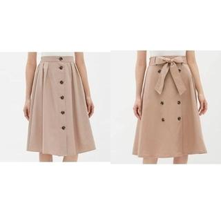 ジーユー(GU)の最終価格♪【GU】XSサイズ トレンチ スカート 2着セット(その他)