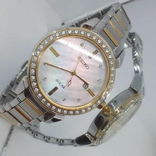 SEIKO - 美品 SEIKO セイコー ソーラー レディース腕時計
