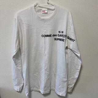 Supreme - supreme COMME des GARÇONS 15aw L/S Tシャツ