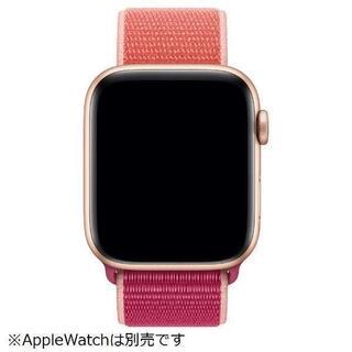 アップルウォッチ(Apple Watch)の未開封品 apple watch純正品バンド スポーツルー apple正規品(その他)