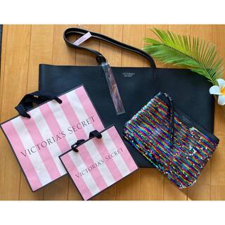 Victoria's Secret - ヴィクトリア シークレット トートバック ポーチ&タッセル&ショップバック
