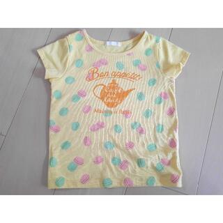 GU - Tシャツ 110 GU 夏 女の子 マカロン