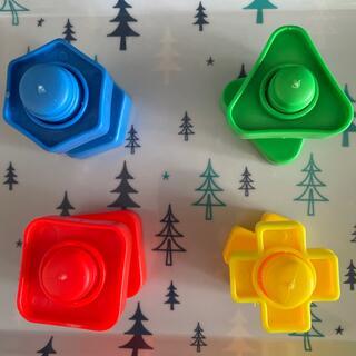 ジャンボナットとボルトおもちゃ4形状