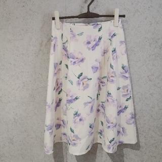 NATURAL BEAUTY BASIC - ナチュラルビューティーベーシック 花柄スカート