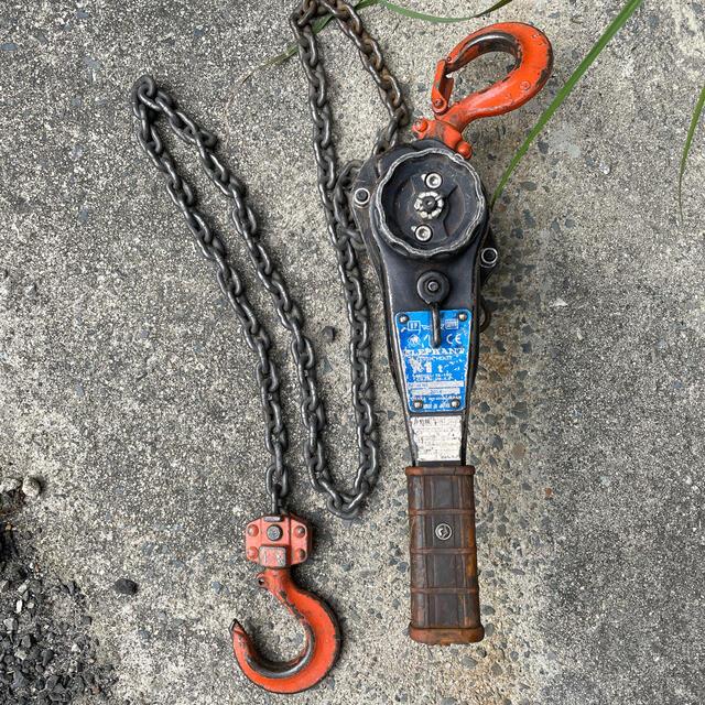 象印(ゾウジルシ)のレバーブロック 象印 1.0t スポーツ/アウトドアの自転車(工具/メンテナンス)の商品写真