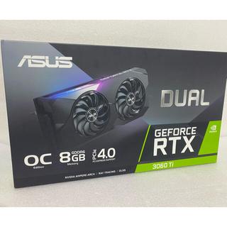 ASUS エイスース DUAL-RTX3060TI-O8G 新品開封未使用