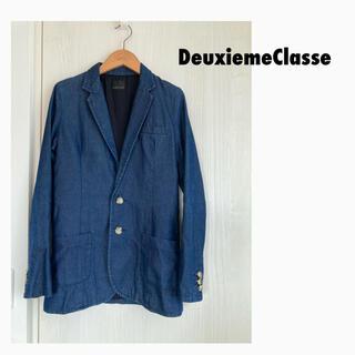 ドゥーズィエムクラス(DEUXIEME CLASSE)のドゥーズィエムクラス デニムテーラードジャケット(テーラードジャケット)