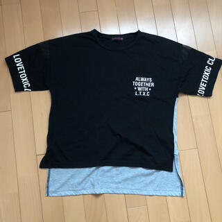 lovetoxic - ラブトキシックTシャツ160センチ