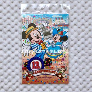 ディズニー(Disney)のディズニーシー13周年アメフロコスチューム ポストカード(キャラクターグッズ)