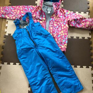 子どもスキーウェア 女の子用 上下セット(ウエア)