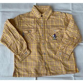 スヌーピー(SNOOPY)のスヌーピーシャツ 120cm(Tシャツ/カットソー)
