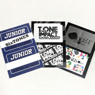 Johnny's - SixTONES  ステッカー 3枚セット   グッズ