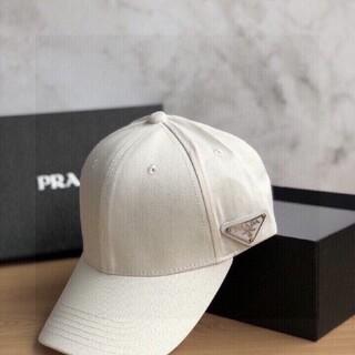 プラダ(PRADA)のPRADA ナイロンキャップ極美品最高級(ハット)