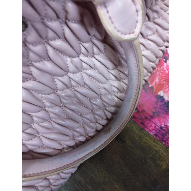 miumiu(ミュウミュウ)のmiumiu ナッパクリスタル カメオマテラッセ ショルダーバッグ レディースのバッグ(ショルダーバッグ)の商品写真