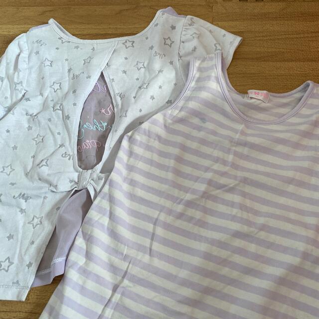 mezzo piano(メゾピアノ)のメゾピアノ Tシャツ キッズ/ベビー/マタニティのキッズ服女の子用(90cm~)(Tシャツ/カットソー)の商品写真