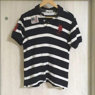 ポロラルフローレン(POLO RALPH LAUREN)のU.S. POLO ASSN ビッグポニー ボーダー ポロシャツ(ポロシャツ)