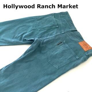 HOLLYWOOD RANCH MARKET - HRMハリウッドランチマーケット ピケパンツW32約82cm