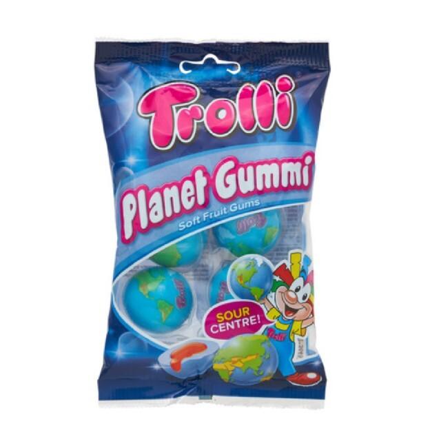 KALDI(カルディ)のトローリ プラネットグミ 地球グミ 食品/飲料/酒の食品(菓子/デザート)の商品写真