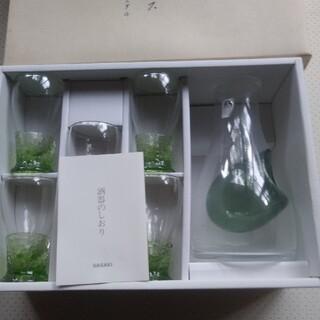 トウヨウササキガラス(東洋佐々木ガラス)の冷酒グラス 佐々木クリスタル(アルコールグッズ)