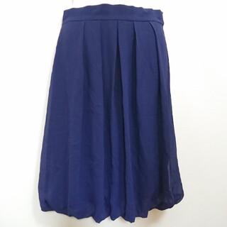 アナイ(ANAYI)のアナイ バルーンスカート プリーツスカート シフォンスカート 送料無料(ひざ丈スカート)