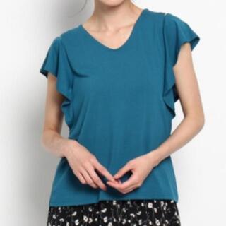 エージーバイアクアガール(AG by aquagirl)のショルダースリットカットソー(カットソー(半袖/袖なし))