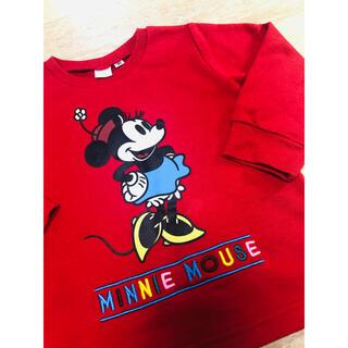 ディズニー(Disney)のNo.309 ディズニー ミニー トレーナー 90㎝(Tシャツ/カットソー)
